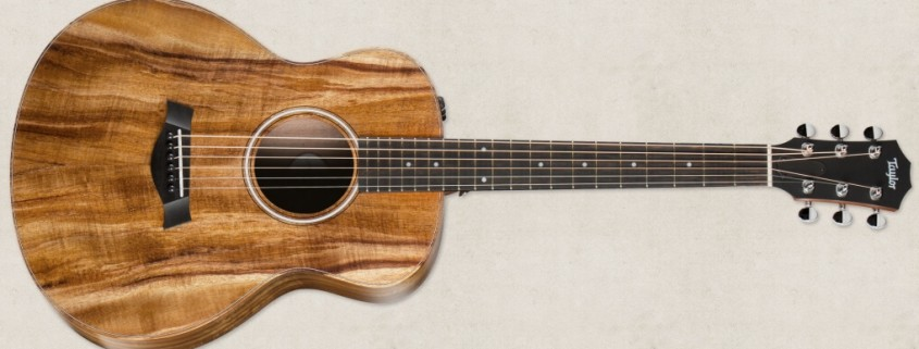 泰勒 Taylor GS Mini-e Koa FLTD 民谣吉他